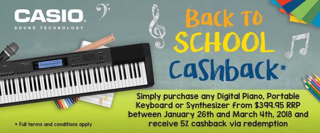 casio back to school