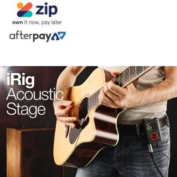 IK Multimedia iRig Acoustic Stage Digital Microphone System