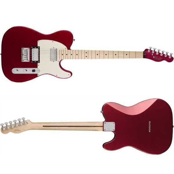 Squier Contemporary Telecaster HH - Dark Metallic Red