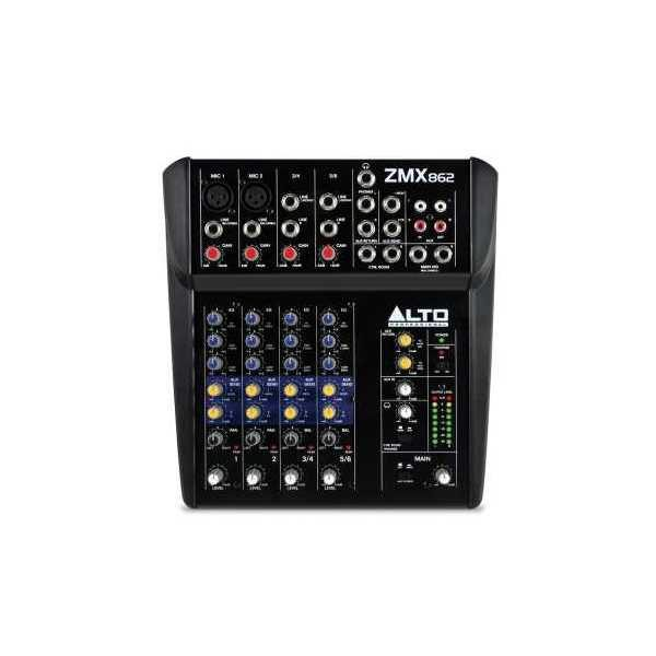 Alto ZMX862 6 Channel Compact Mixer