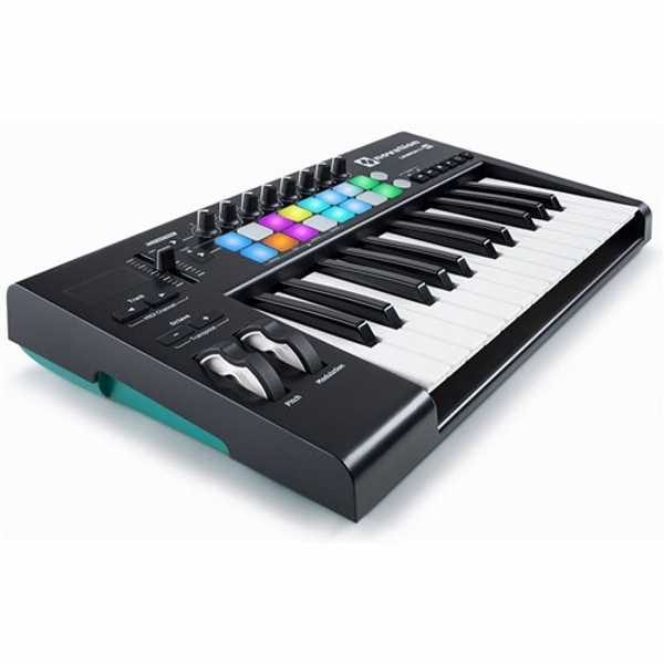 Novation Launchkey 25 mk2 Key Performance & iOS Controller (2)