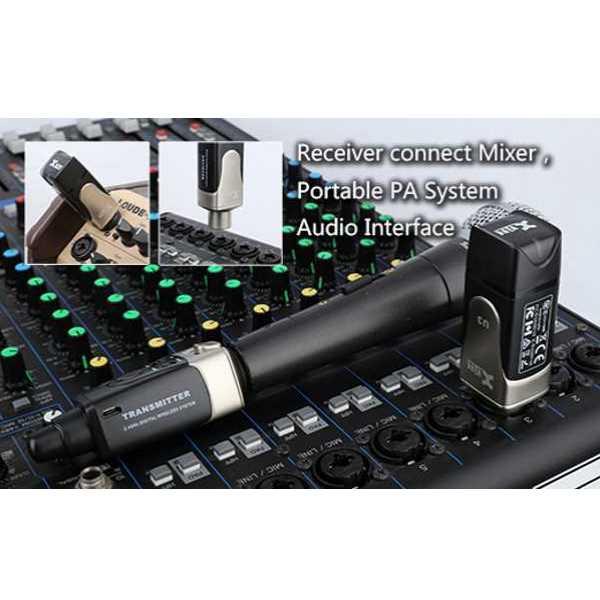 microphone wireless system u3 musicians oasis. Black Bedroom Furniture Sets. Home Design Ideas