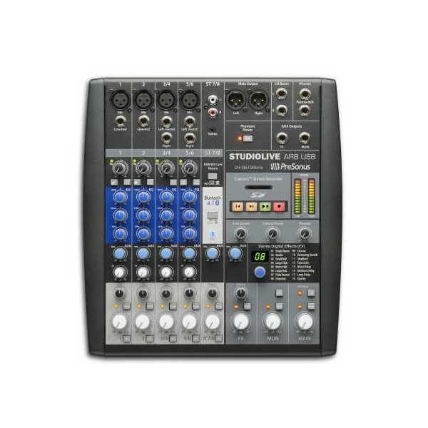 StudioLive AR8 USB 8 Channel Hybrid Mixer