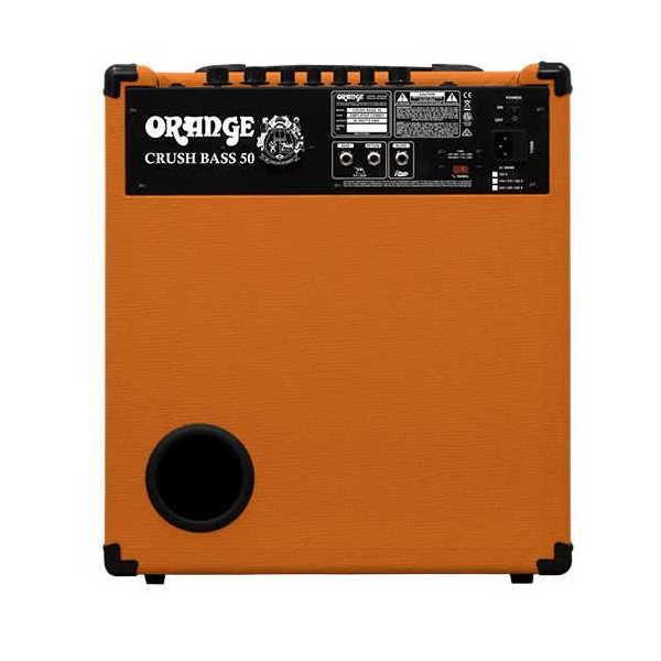 Orange Crush Bass 50 Combo Back