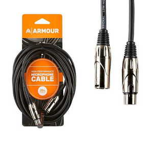 Armour CCP20U XLR Cable 20ft Upgrade Connectors