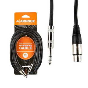 Armour CJP20 HP XLR-Jack Cable 20ft
