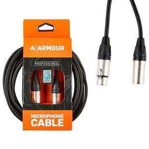 Armour NXXP20 Mic Cable 20ft Neutrik XLR to XLR