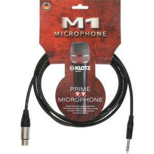 Klotz M1FS1K Female XLR to TRS Jack