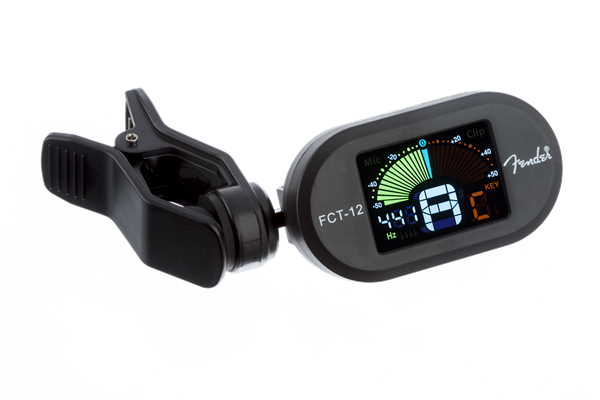 Fender FCT-12 Clip On Tuner Black 0239978100 (3)