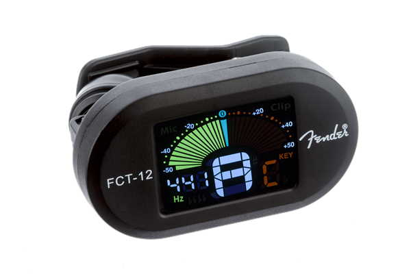 Fender FCT-12 Clip On Tuner Black 0239978100
