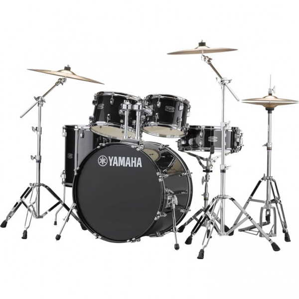 Yamaha Rydeen 5pc Euro Drum Kit - Black Glitter