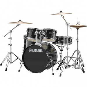 Yamaha Rydeen 5pc Fusion Drum Kit - Black Glitter