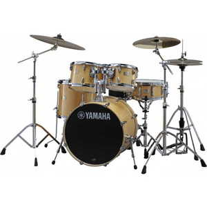 Yamaha Stage Custom Birch Euro Drum Kit w-Hardware - Natural Wood