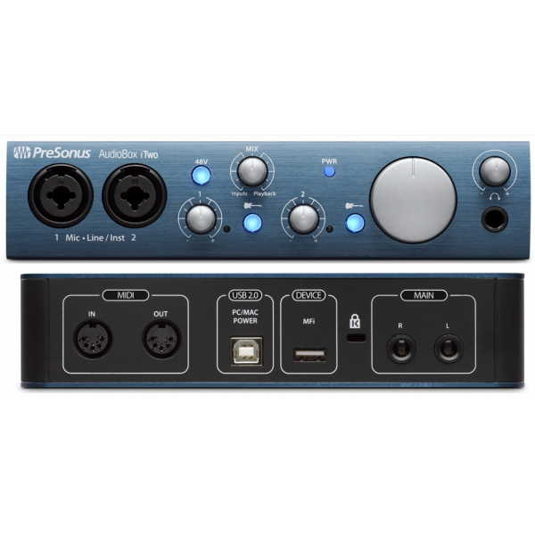 presonus-audiobox-itwo-interface-front-back