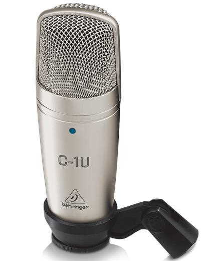 Behringer C1U Stereo Condenser USB Mic 2