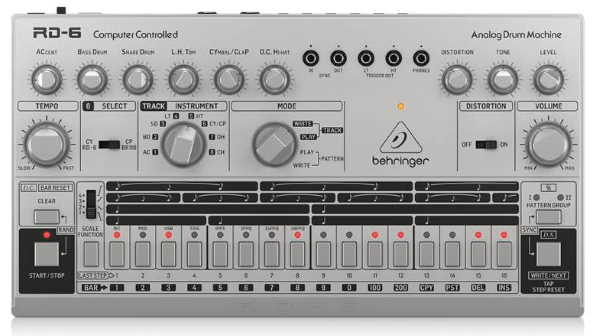 Behringer RD6 SR Analog Drum Machine