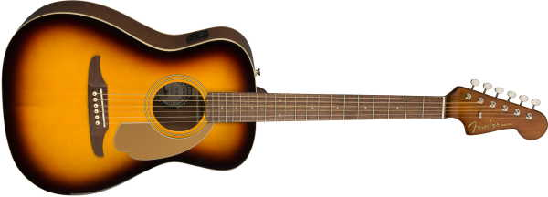 Fender Malibu Player Sunburst (3)