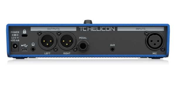 TC Helicon Voicelive Play Guitar Vocal Pedal 4