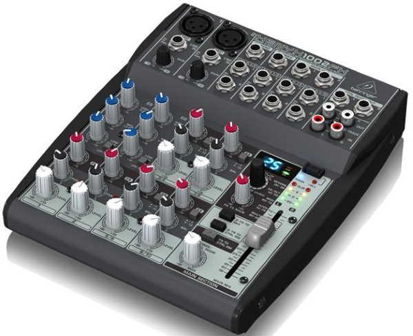 Behringer XENYX 1002FX Mixer (2)