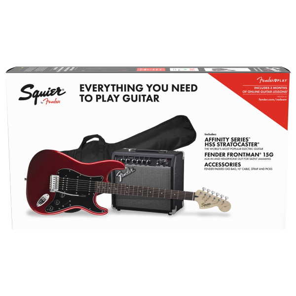 Fender Affinity Series Stratocaster HSS Pack