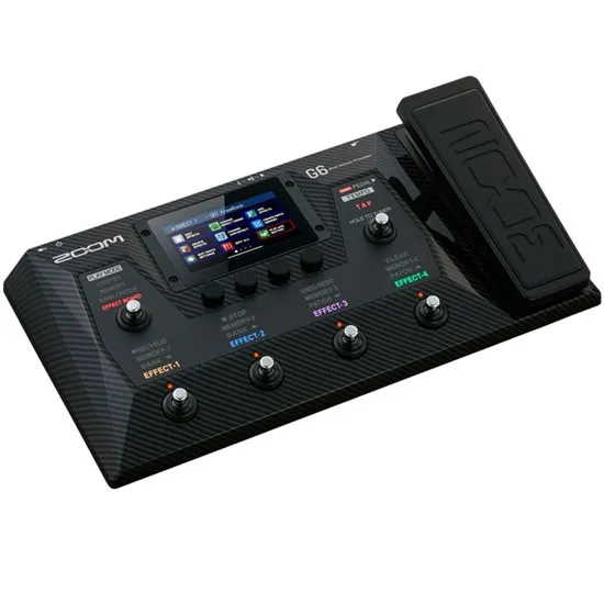 Zoom G6 Multi-Effects Guitar Processor (3)