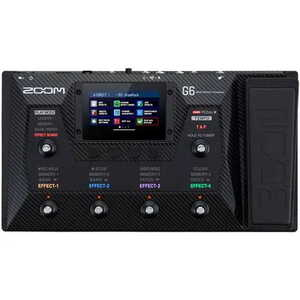 Zoom G6 Multi-Effects Guitar Processor