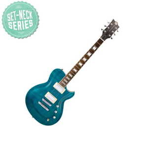 Reverend Roundhouse FM Turquoise Flame Maple